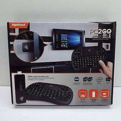 HIPSTREET PC2GO WINDOWS PC MEDIA STREAMER TV PLAYER (T24)