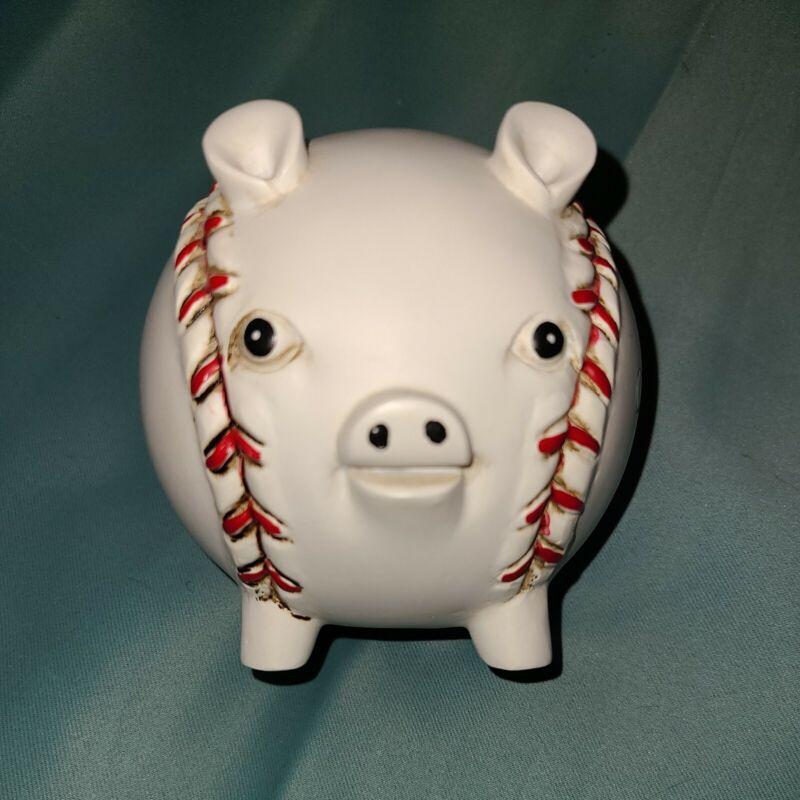 Vintage Chicago Baseball Pig Piggy Bank