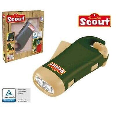 SCOUT Dynamo Taschenlampe für Kinder Outdoor Spielzeug 19354 Outdoor-spielzeug Für Kinder