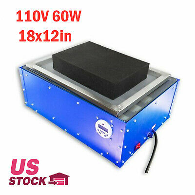 18x12in Uv Exposure Unit System For Industry Commercial Stampingpad Printing