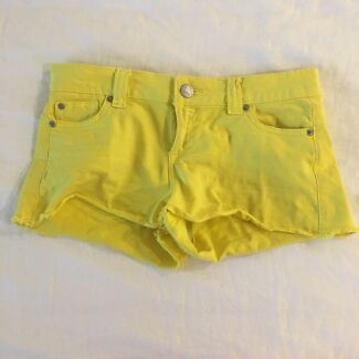 Denim Shorts Size 8