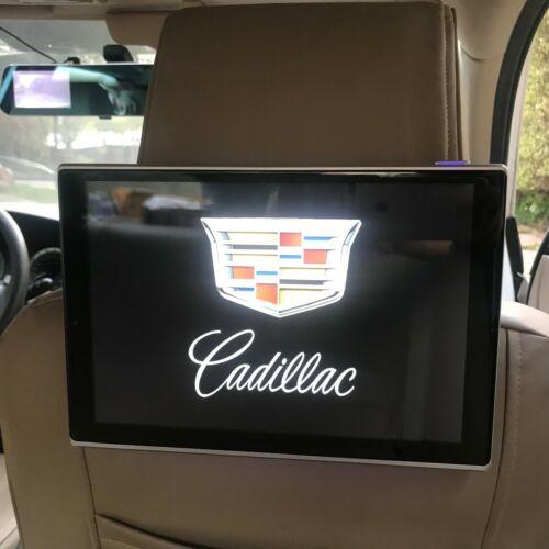 Cadillac Escalade Rear Seat Entertainment Android Headrest DVD Players TV Srceen