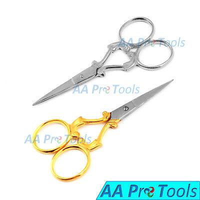 2pcs Straight Scissors , Mustache Nose Hair Scissors, Embroidery, Best (Best Nose Hair Scissors)