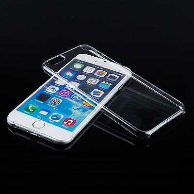 "5 pcs Crystal Clear Hard Plastic Thin Transparent Case Cover for iPhone 6 (4.7"")"