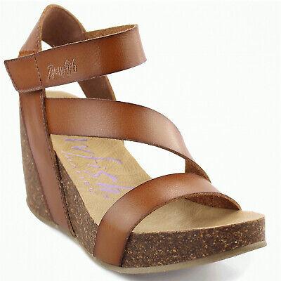 Women's Blowfish HAPUKU Scotch Sticking Strap Wedge Sandal Shoes
