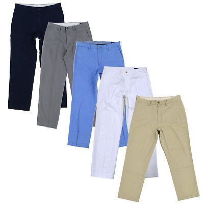 Polo Ralph Lauren Mens Chinos Classic Fit Flat Front Pants Casual Khakis New Nwt Classic Flat Front Khakis