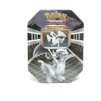 2011 Pokemon Trading Card Game New Legends Tin - Reshiram - Black and White
