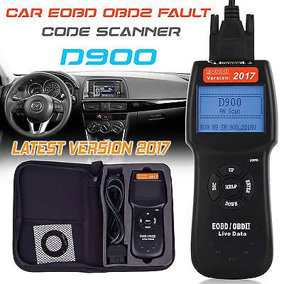 Universal Car 2017 Fault D900 Code Reader OBD2 EOBD CAN Diagnostic Scanner Tool