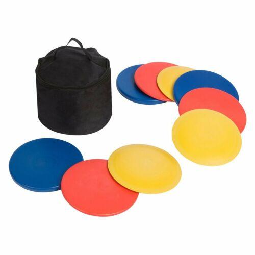 Disc Golf Set w 9 discs and Bag - 9 Discs Outdoor Sport Driver Glide Fade