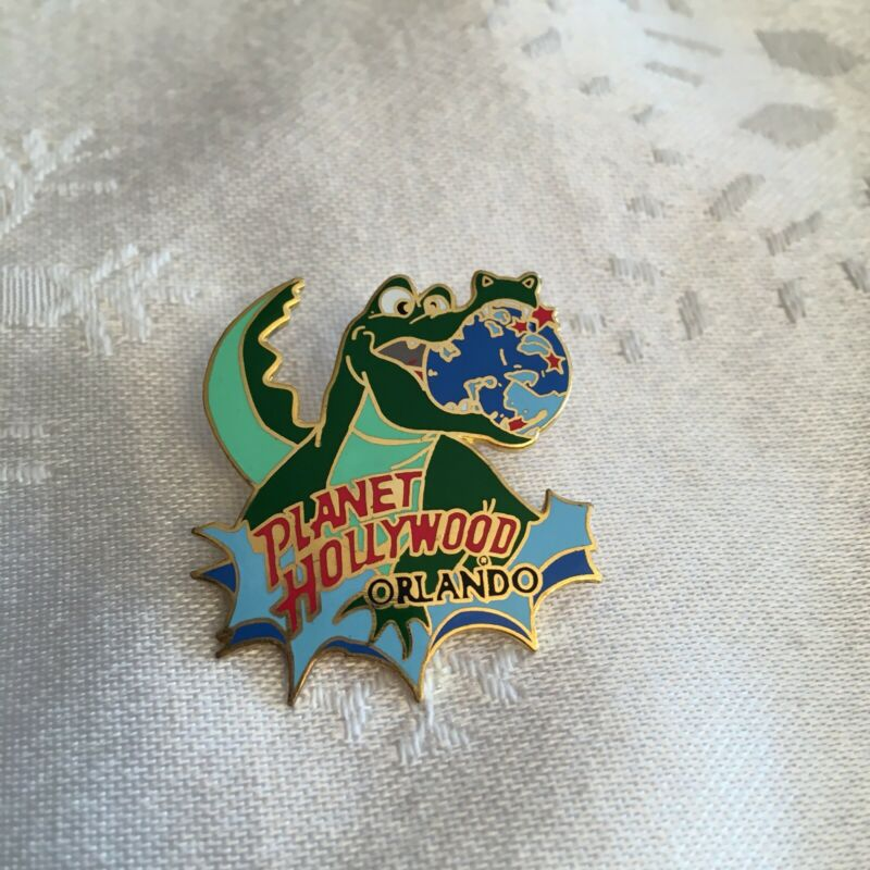Planet Hollywood Orlando alligator pin
