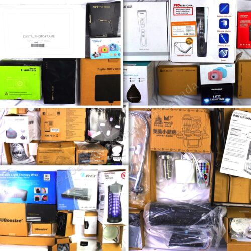 HUGE Wholesale Lot of Consumer Electronics & Home Products, 50 items, $1050 MSRP