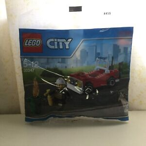 Lego 2016 City 30347 Fire car polybag MISB Rosebery Inner Sydney Preview