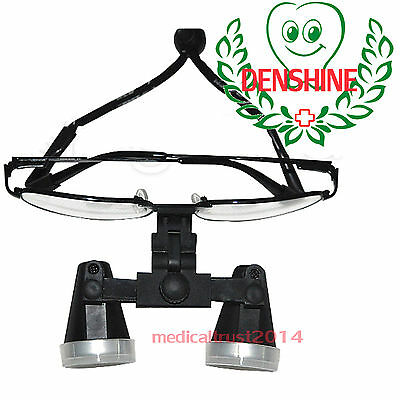 High-end Black Metal Dental Surgical Medical Binocular Loupes 3.5x 420mm Glasses