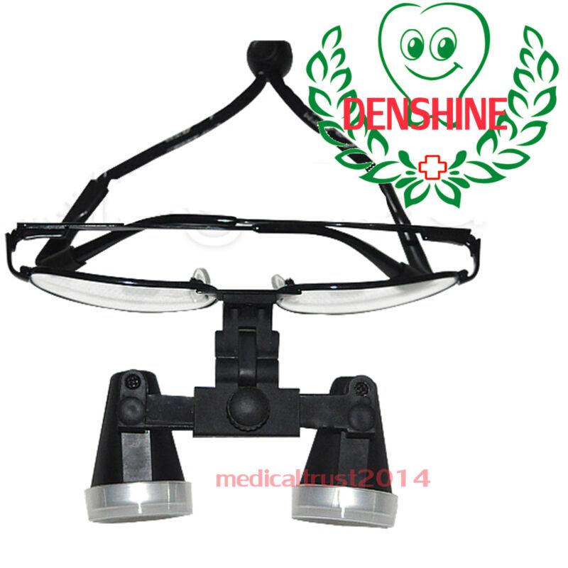 High-end Black Metal Dental Surgical Medical Binocular Loupes 3.5X 420mm glasses