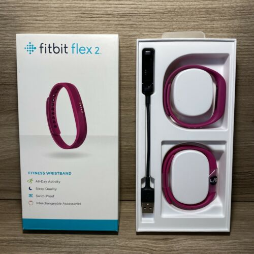 Fitbit Flex 2 Magenta/Pink Band Fitness Tracker Swimming OBO - FREE SHIP - $114.99
