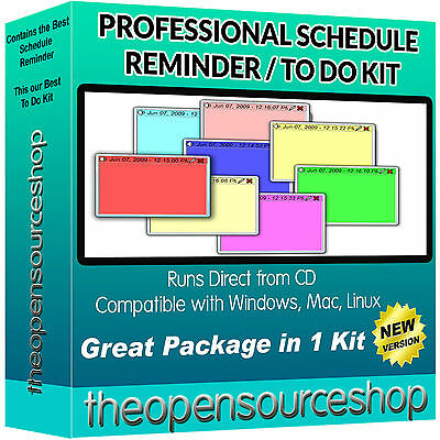 Pro Task Management collection – Notepad & Scheduling Reminder Software Suite