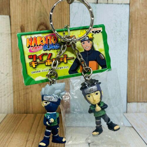 Banpresto 2007 Naruto Shippuden Twin Figure Keychain Kakashi & Yamato