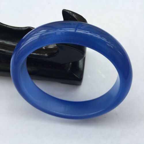 Chinese Natural Blue Lavender Nephrite Jade/ Gems Bracelet Bangle 59-60mm