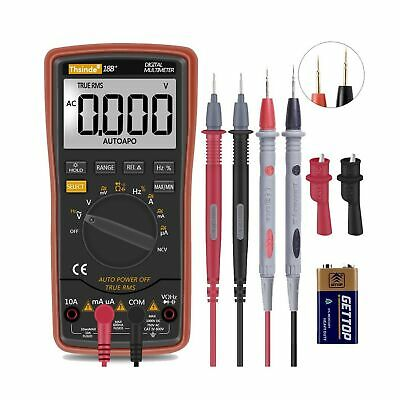 Digital Multimeter Fluke Meter Amp Ohm Voltmeter Autorange Tester Acdc Useful