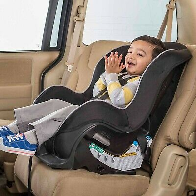 Convertible Car Seat Baby Toddler Safety 2 in 1 Facing Front Rear Harness-GRAY