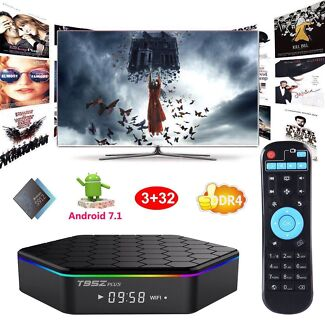Android 7.1 OS Android TV Media KODI Streaming Player