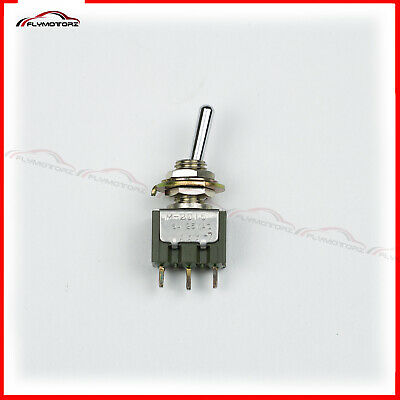 1 Pcs Nkk 6a 125v On-mom Spdt Momentary Miniature Toggle Switch M2015bb1a03 New