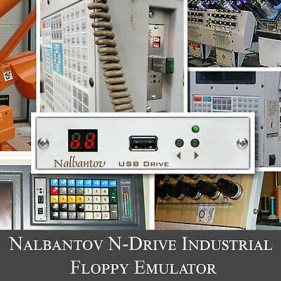 Nalbantov Usb Emulator N-drive Industrial For Bridgeport Milling Machine Ez Trak