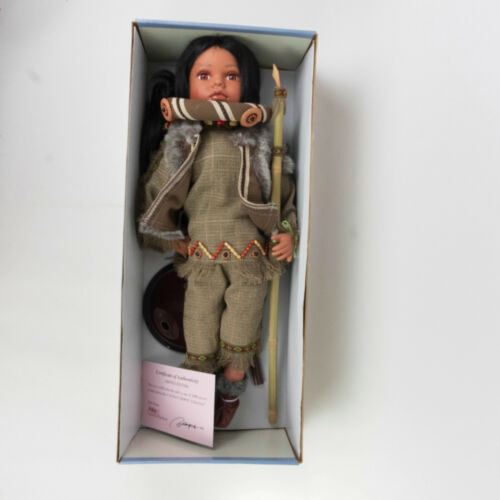 """Native American Doll (Eric) New in Box AUTHENTIC - Cathay Collection - 24"""""""
