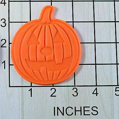 Halloween Jack-o' -lantern Pumpkin Shaped Fondant Cookie Cutter and Stamp #1515](Halloween Pumpkin Shaped Cookies)