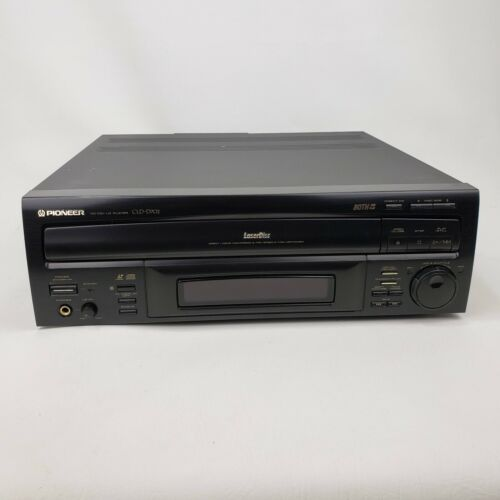 Pioneer CLD-D702 LaserDisc Player CD DVD No Remote Works