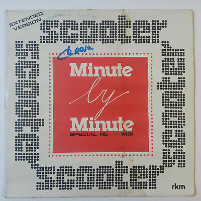 Scooter – minute by minute (extended version) - vinyl, 12
