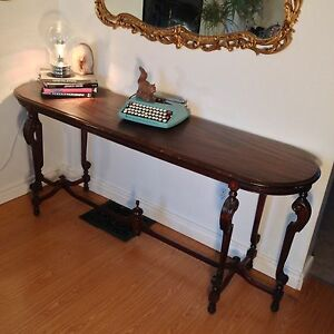 Antique Mahogany Hall / Sofa Table