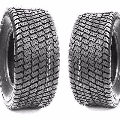 (2) Turf Lawn Mower 20X8.00-10 Tires 20X800-10 20-800-10 4Ply Tires Grassmaster
