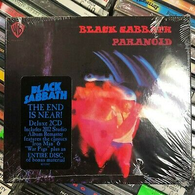 BLACK SABBATH Paranoid [2-CD set, like new] FREE shipping!!