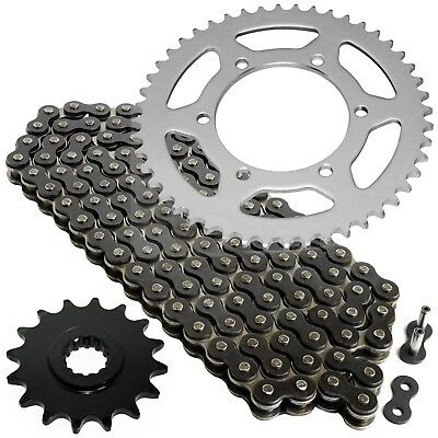 Black Drive Chain And Sprocket Kit for Yamaha R6 YZF-R6 2003 2004 2005
