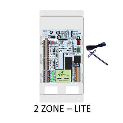 Universal 2 Zone Controler Smartzone-2l Best Value Hvac Zoning Damper Control
