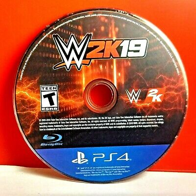 WWE 2K19 2019 (Sony PlayStation 4, 2018) Disc Only # 30076, used for sale  Shipping to India