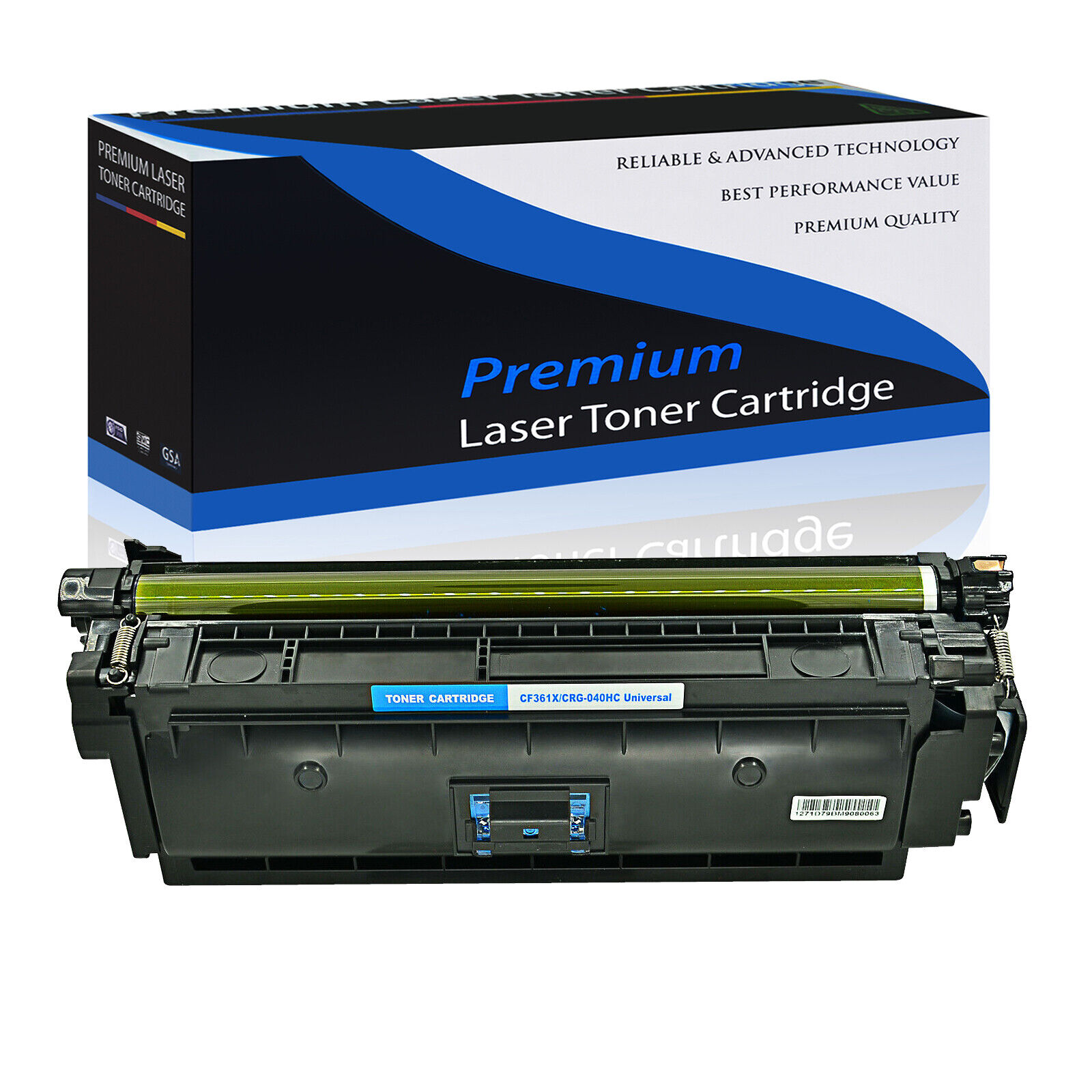 High Yield M553DN 508X M577C Cyan M577DN M577Z On-Site Laser Compatible Toner Replacement for HP CF361X M553X Works with: Color Laserjet Enterprise M553N M577F