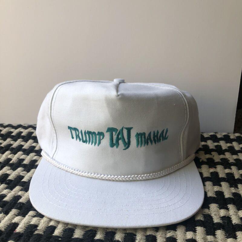 vintage trump taj mahal hat New deadstock