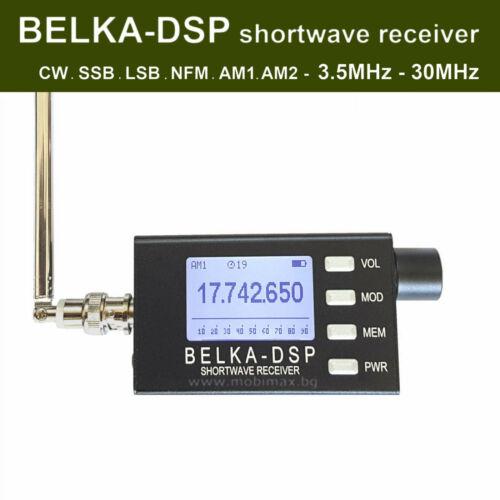 BELKA-DSP shortwave receiver 3.5-30MHz