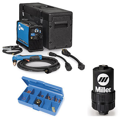 Miller Spectrum 625 X-treme Plasma Cutter W 12ft Torch 907579 And Accessories