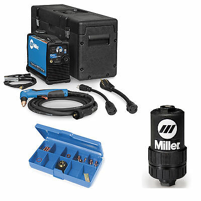 Miller Spectrum 625 X-treme Plasma Cutter W 12ft Torch 907579 And Accessories