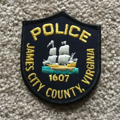 James City County Virginia Police patch
