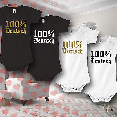 Baby-junge Ideen (Babybody Baby Strampler Druck 100% Deutsch Hooligan Geburt Geschenkidee Germany)