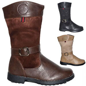 neuf pour fille bottes enfants automne hiver boots d. Black Bedroom Furniture Sets. Home Design Ideas