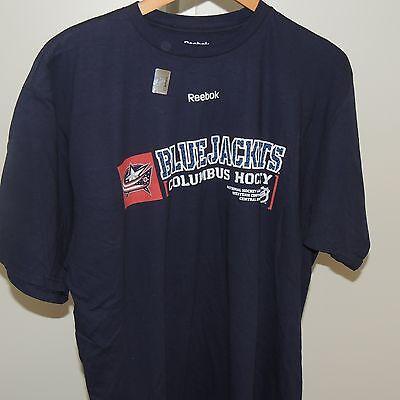 NHL Reebok Columbus Blue Jackets Hockey Shirt New Mens XL ()