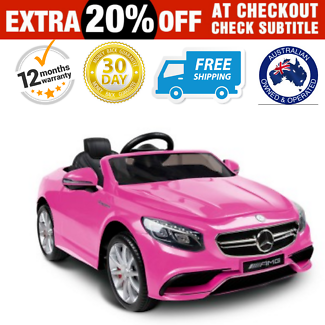 Electric Kids Ride On Car Mercedes Benz AMG Toys Free Delivery