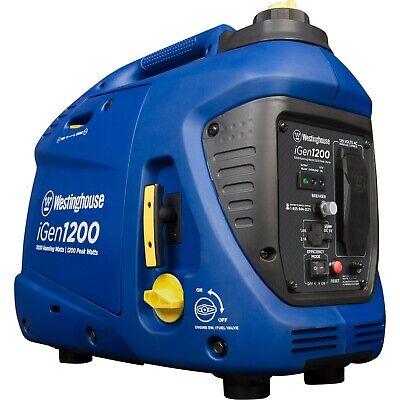 Open Box Westinghouse Igen1200 Portable Inverter Generator