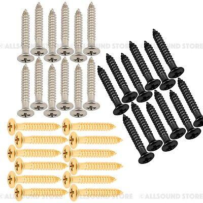 (12) Humbucker Pickup Ring Mounting Screws for Gibson, Epiphone etc. Guitar Humbucker Mounting Ring Screws