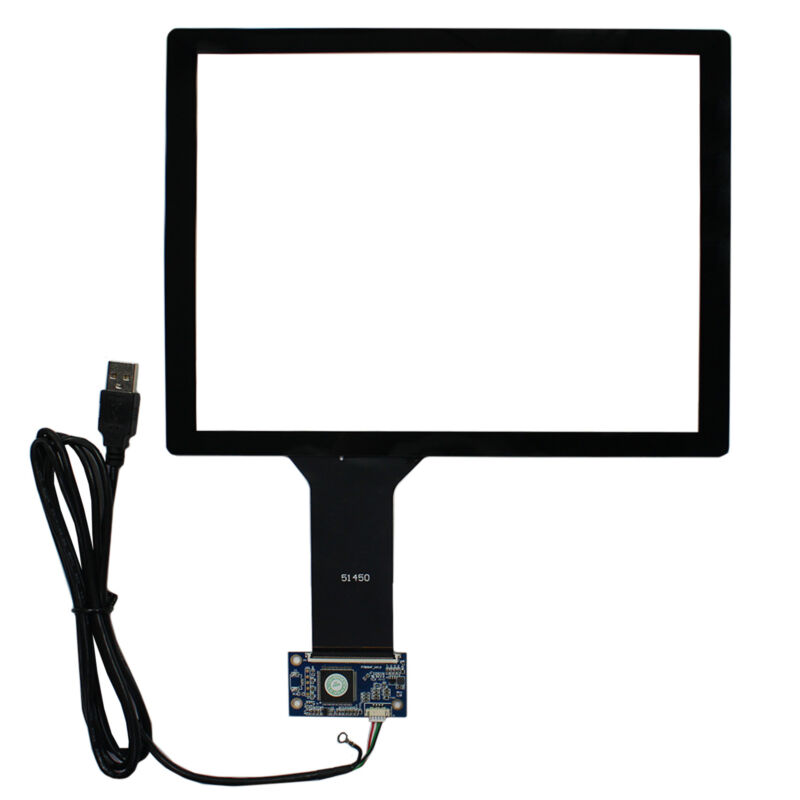 """10.4"""" Capacitive Touch Screen+USB Controller For 800x600 1024x768 4:3 LCD Screen"""